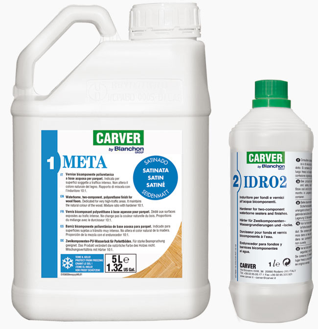 PACK Water-based two-component finish META